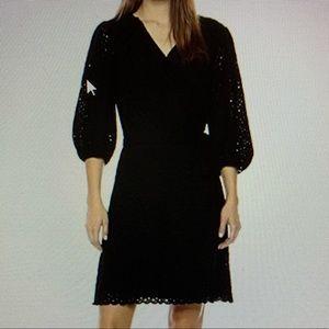 Velvet by Graham Spencer Cotton Dress Black women